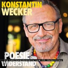 Konstantin Wecker Saarbrücken